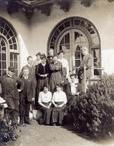 Image of Faculty at Tamalpais High School, date unknown                                                                                                                                                                                                             - Print, Photographic