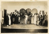 Image of Tamalpais High School senior class play,  1913                                                                                                                                                                                                             - Print, Photographic