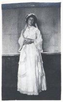 Image of Tamalpais High School student Margie as Miss Pole,1914                                                                                                                                                                                                  - Print, Photographic