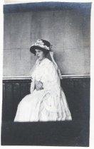 Image of Tamalpais High School student Margie as Miss Pole, circa 1914                                                                                                                                                                                              - Print, Photographic