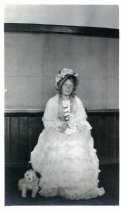 Image of Tamalpais High School student Karin Lundquist Connelly as Betsy Barker, circa 1914                                                                                                                                                                         - Print, Photographic