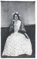 Image of Tamalpais High School student in Marguerite Merington's Play, circa 1914                                                                                                                                                                                   - Print, Photographic