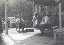 Image of Alfhild Lundquist, Karin Lundquist, and Alfred Lundquist, date unknown                                                                                                                                                                                     - Print, Photographic