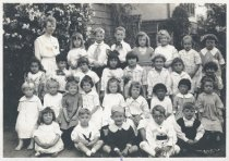 Image of Park School class photo, date unknown                                                                                                                                                                                                                          - Print, Photographic