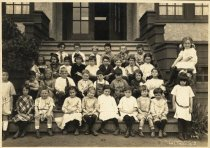 Image of Park School class photo, circa 1920                                                                                                                                                                                                                            - Print, Photographic