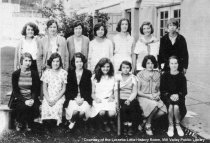 Image of Old Mill Schools girls baseball team, 1930