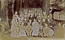 Image of Summit School class photo, circa 1902                                                                                                                                                                                                                      - Print, Photographic