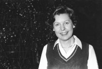 Image of Kit (Elizabeth) Wallace, circa 1980                                                                                                                                                                                                                            - Print, Photographic
