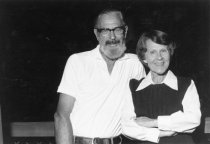 Image of Ruth and Joe Wilson,  1980                                                                                                                                                                                                                            - Print, Photographic