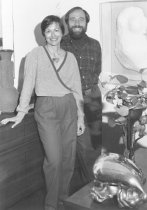 Image of Gary Topper and Evelyn Topper, circa 1980                                                                                                                                                                                                                      - Print, Photographic