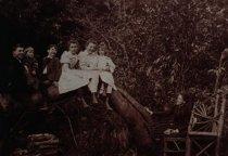 Image of Josephine Thompson and her children, circa 1893                                                                                                                                                                                                                - Print, Photographic