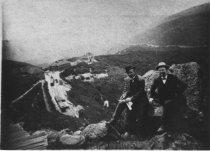 Image of Jack Hansen and Corner Keaton, circa 1905-1910                                                                                                                                                                                                                 - Print, Photographic
