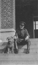 Image of Bill Hamilton, 2nd LT, USMC, 1926                                                                                                                                                                                                                              - Print, Photographic