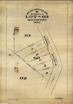 Image of Schlingman's Subdivision of Lot 63 Millwood, 1906                                                                                                                                                                                                              - Maps
