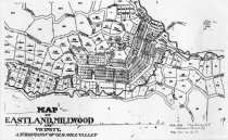 Image of Map of Eastland, Millwood and Vicinity: A Subdivision of Old Mill Valley, date unknown                                                                                                                                                                         - Maps