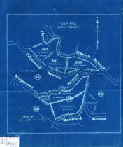 Image of Map No. 5, Mill Valley and Map No. 7, Homestead Valley, 1905                                                                                                                                                                                                   - Maps
