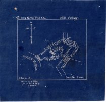 Image of Grace N.W. Peeke. Mill Valley. Map. 5., 1905