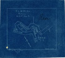 Image of T.L & W. Co. Portion MAP No. 5., 1905