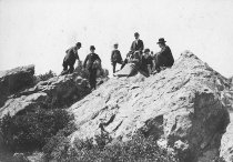Image of Visitors on Mt. Tamalpais, date unknown                                                                                                                                                                                                                        - Print, Photographic