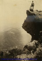 Image of Profile Rock on Mt. Tamalpais,, circa 1901                                                                                                                                                                                                                 - Print, Photographic