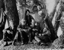 Image of Campsite featuring William Kent, Sidney Cushing and others, 1899                                                                                                                                                                                    - Print, Photographic