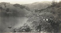 Image of Mt. Tamalpais, Alpine Lake, Old Shore Trail, 1925                                                                                                                                                                                                              - Print, Photographic