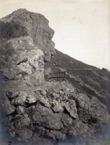 Image of Mt. Tamalpais Profile Rock, date unknown                                                                                                                                                                                                                   - Print, Photographic