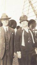 Image of John & Cora Burt, 1927                                                                                                                                                                                                                                         - Print, Photographic