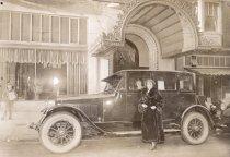 Image of Viola Baldocchi in San Francisco, 1920s.                                                                                                                                                                                                                - Print, Photographic