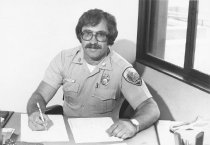 Image of Roy A. Bernard, Fire Department Battalion Chief, 1980                                                                                                                                                                                                          - Print, Photographic