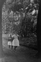 Image of Grace Finn  (Wellman) and Elizabeth Finn, date unknown                                                                                                                                                                                                         - Print, Photographic