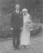 Image of Ted Wellman and Grace Finn, 1925                                                                                                                                                                                                                               - Print, Photographic