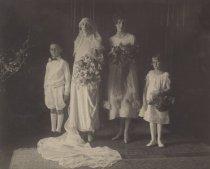 Image of John Finn III, Grace Finn (Wellman), Ruth Anthony, Ruth Finn, 1925                                                                                                                                                                                             - Print, Photographic