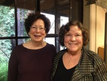 Image of Trisha Garlock and Penny Weiss, photo by Mari Allen