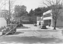 Image of Locust Avenue looking toward Miller Avenue, circa 1930s                                                                                                                                                                                                        - Print, Photographic