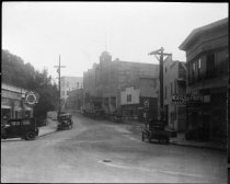 Image of Looking up Throckmorton Avenue, early 1929                                                                                                                                                                                                                     - Print, Photographic