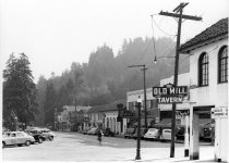 Image of Miller Avenue from Throckmorton, circa 1930-1940                                                                                                                                                                                                               - Print, Photographic