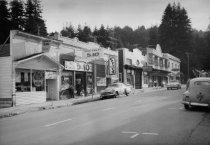 Image of Throckmorton Avenue, circa 1940s                                                                                                                                                                                                                         - Print, Photographic