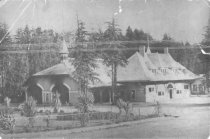 Image of Mill Valley Second Train Station, circa 1900                                                                                                                                                                                                                   - Print, Photographic