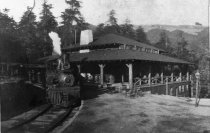 Image of Montgomery Engine #1, circa 1907                                                                                                                                                                                                                    - Print, Photographic