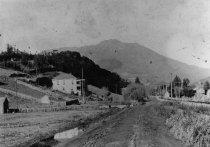 Image of Miller Avenue looking towards Mount Tamalpais, circa 1903                                                                                                                                                                                                  - Print, Photographic
