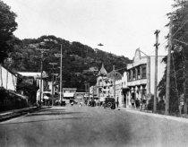 Image of Throckmorton Avenue, circa 1915                                                                                                                                                                                                                                - Print, Photographic
