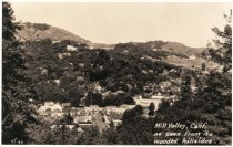 Image of Downtown area and Throckmorton Avenue, circa 1920s                                                                                                                                                                                                             - Print, Photographic