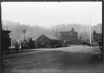 Image of Throckmorton Avenue looking toward Miller Avenue, circa 1929                                                                                                                                                                                      - Print, Photographic