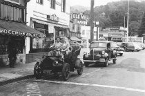 Image of Throckmorton Avenue at Miller Avenue, circa 1937                                                                                                                                                                                                               - Print, Photographic