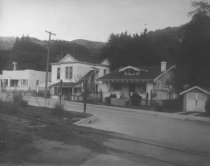 Image of Corte Madera Avenue at  Lovell Avenue, circa 1929