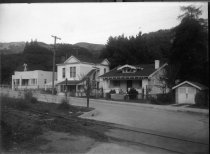 Image of Corte Madera Avenue at  Lovell Avenue, circa 1929                                                                                                                                                                                                              - Print, Photographic