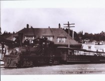 Image of Mill Valley Railroad Station, circa 1920                                                                                                                                                                                                                  - Print, Photographic