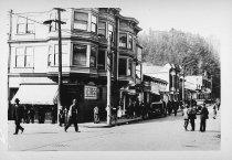 Image of Corner of Throckmorton and Miller, circa 1915-1920