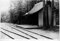 Image of Original Mill Valley station, circa 1890                                                                                                                                                                                                                       - Print, Photographic